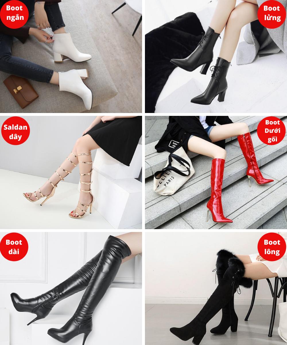 Sản phẩm của shop giày boot nữ TP Fashion