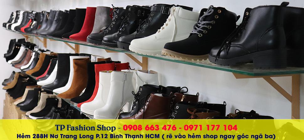 TP Fashion Shop cửa hàng giày boot nữ tại TP HCM