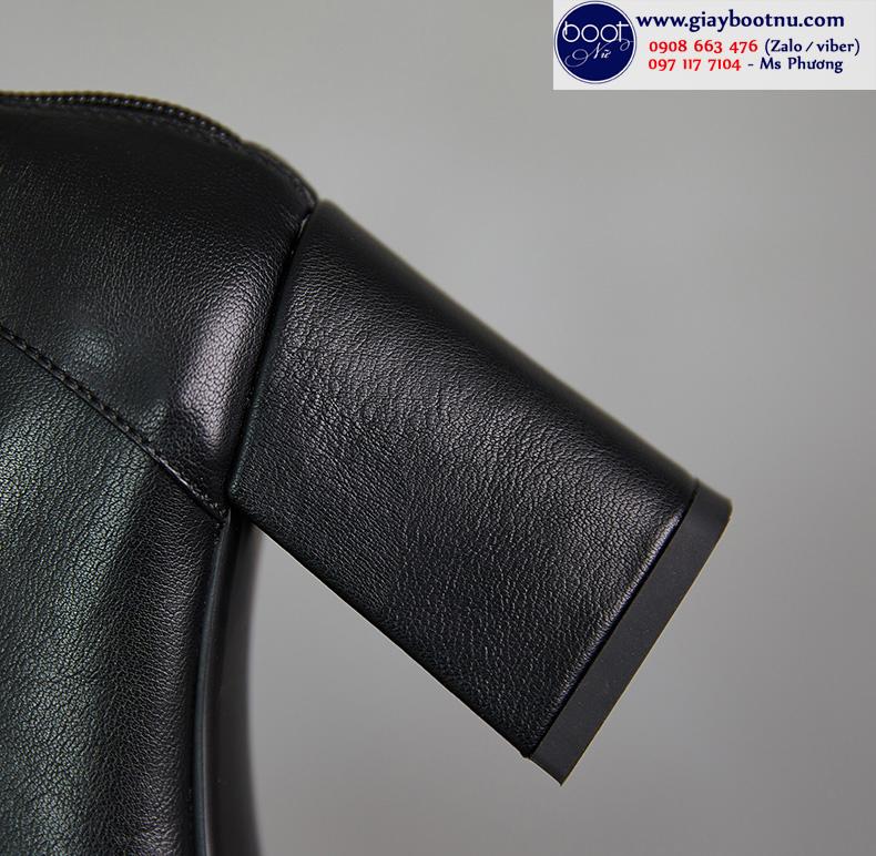 Boot lửng mũi vuông ÔM CHÂN sành điệu GBN6901