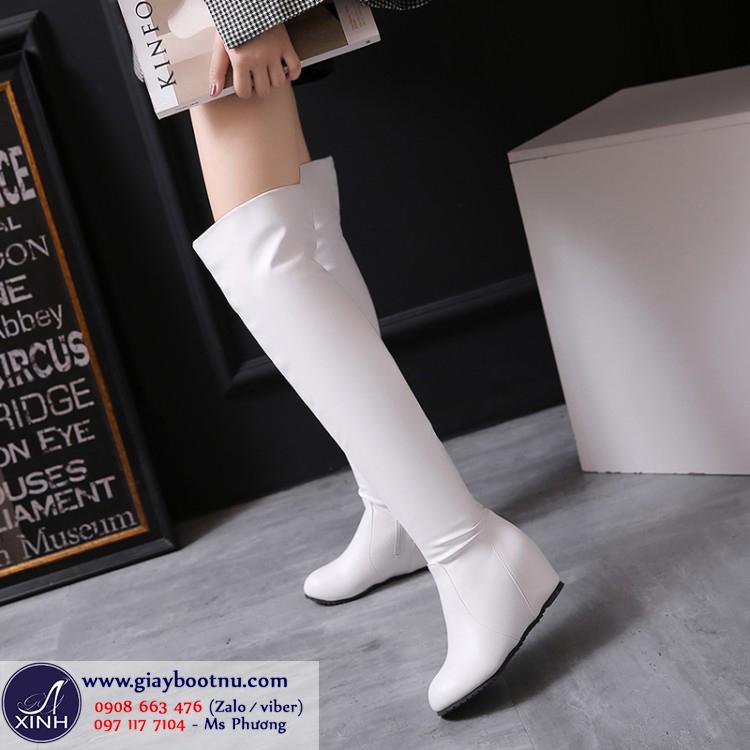 Boot nữ ống cao đế xuồng size lớn GCC5002